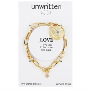 Unwritten I love you to the Moon & Back Bracelet